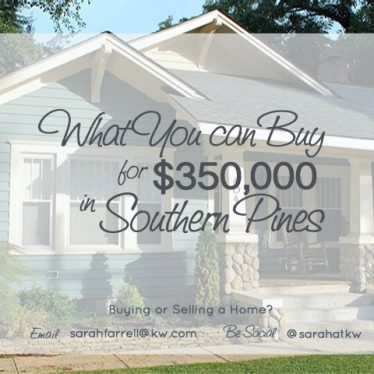 What You Can Buy for $350,000 in Southern Pines